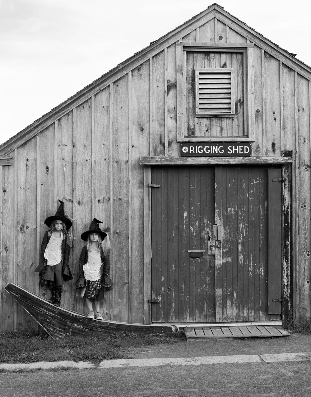 Rigging Shed Portrait – Central Wharf / Salem Maritime