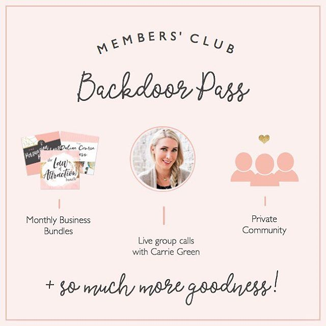 Today is the last day for getting a sneaky discounted friends pass for my most recommended place to be for any kind of entrepreneur 🙀 . This isn't opened to the public, just for the friends of the peeps already in the club (aka, ME!) I made friends with the bouncer 😘 and can get you in with PROMO CODE: FRIENDS2018 . That will get you $10 off every month . I've been in this group for YEARS, like, four. Even when I didn't know what my next biz was, I stayed in. The info is invaluable, the Facebook group is worth the inexpensive payments alone for advice from biz babes all over the world 🎉 . Anyone out there looking to boost their biz online should def try it! DM me for any questions 💛💛💛 . I want us all to succeed with our badass biz!!