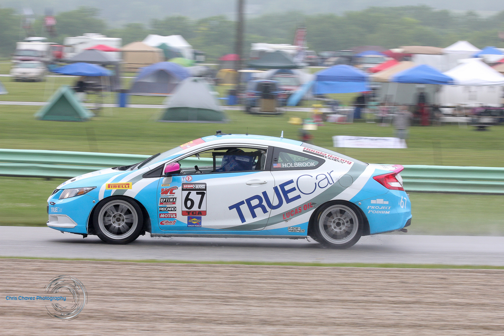 #67 Shea Holbrook - Radium - Honda Civic SI - First Place in TCA Class