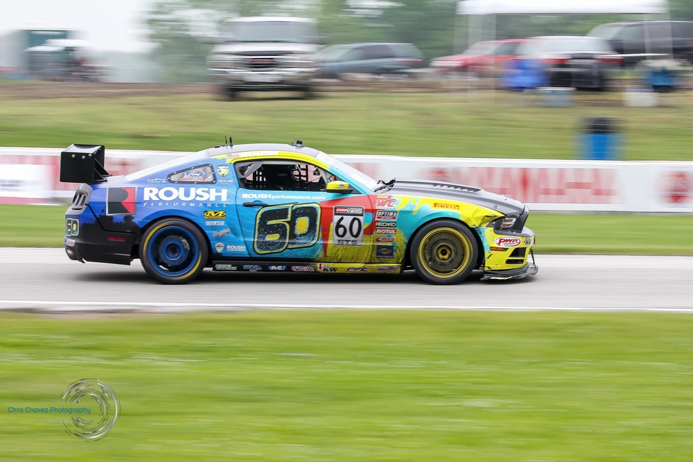 Jack Roush Jr - Pirelli World Challenge - Road America - Turn 7   Click on image for complete coverage.