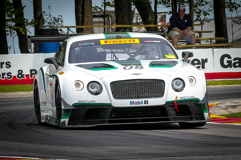 Dyson Racing Butch Leitzinger - Bentley Continental GT3 - Picture Credit - Chris Chavez Photography