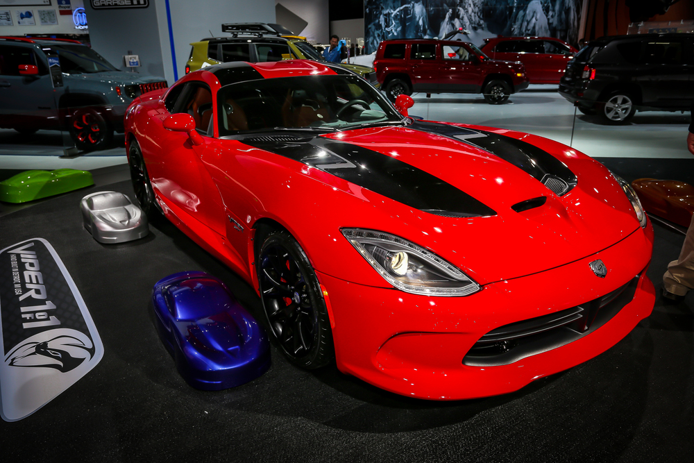 2015 Dodge Viper SRT on display at 2015 NAIAS