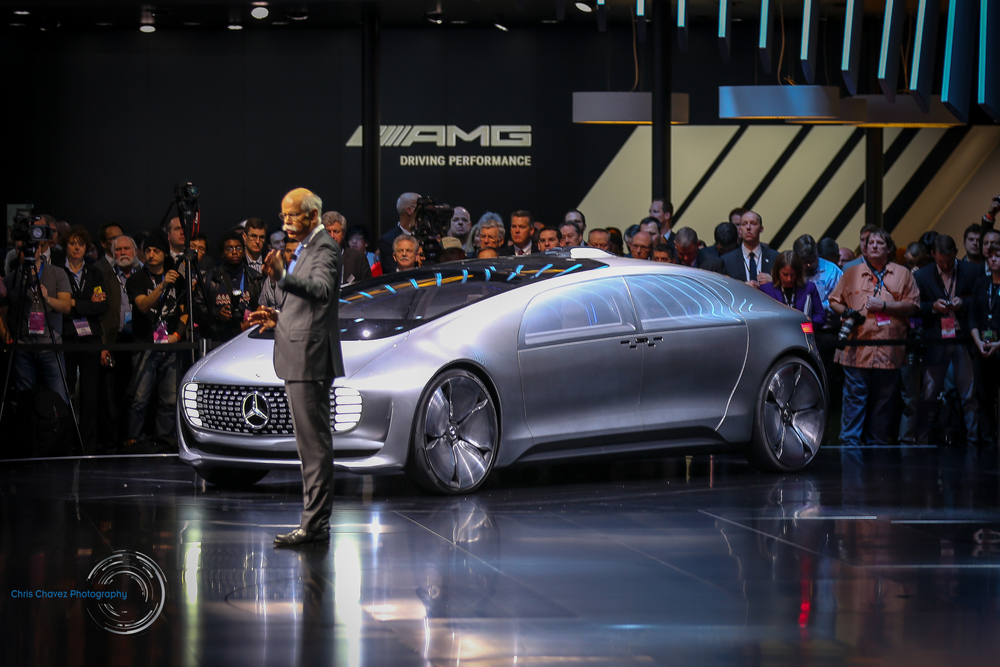 Mercedes-Benz F 015 during NAIAS