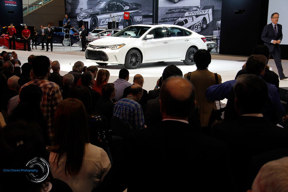 Reveal of the 2016 Toyota Avalon