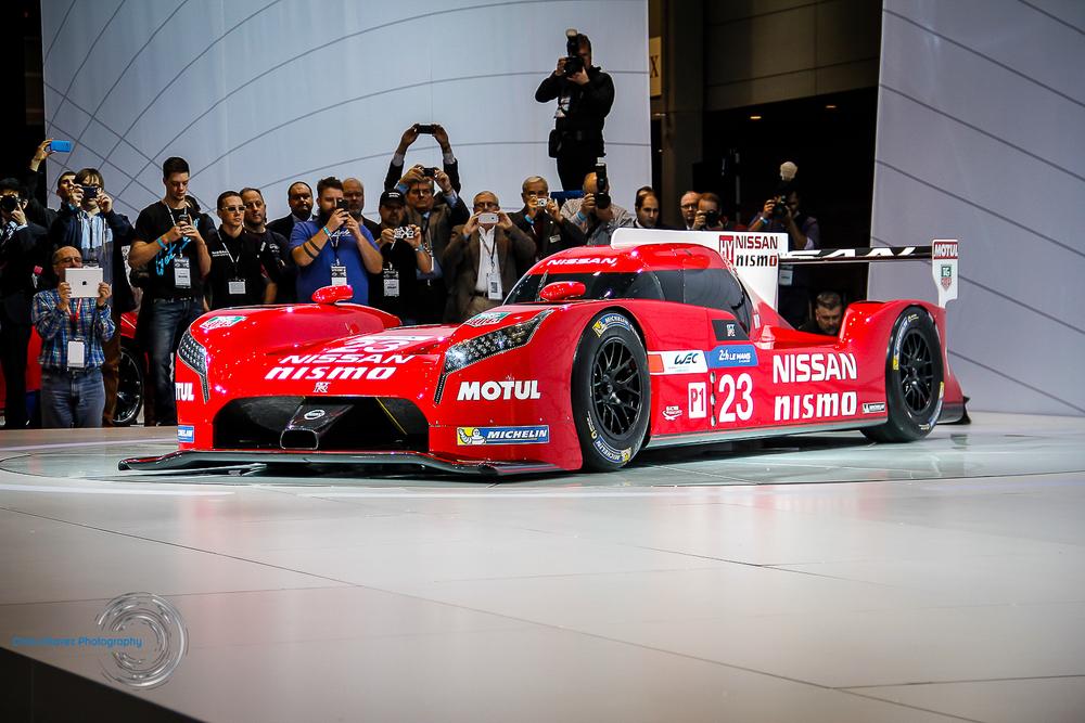 Nissan Nismo GTR Le Mans Race Car