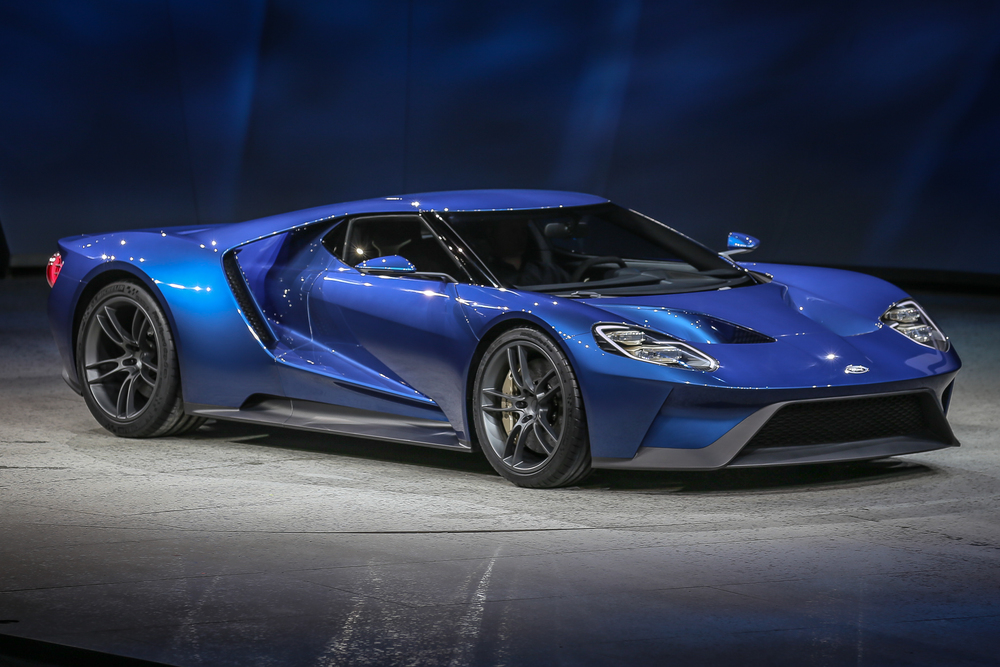 2016 Ford GT  - Click image for 2015 NAIAS Day 1 coverage