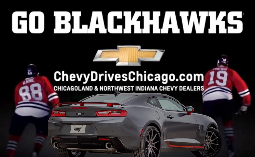 Click on Image to be re-directed to Chevy Drives Chicago To register to win