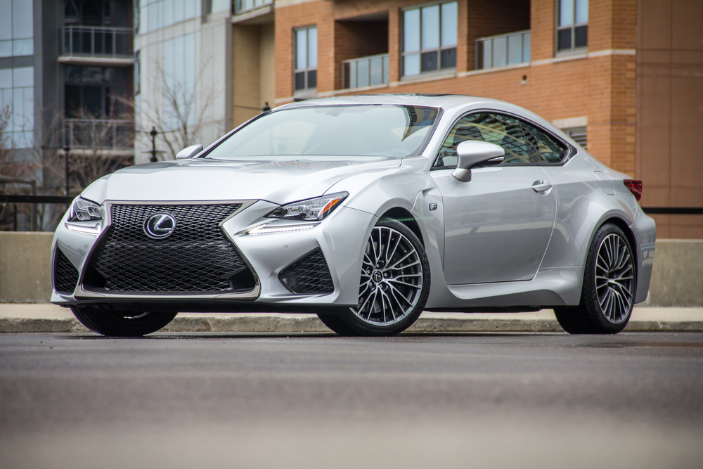Click on image to be redirected to the 2015 Lexus RCF review.
