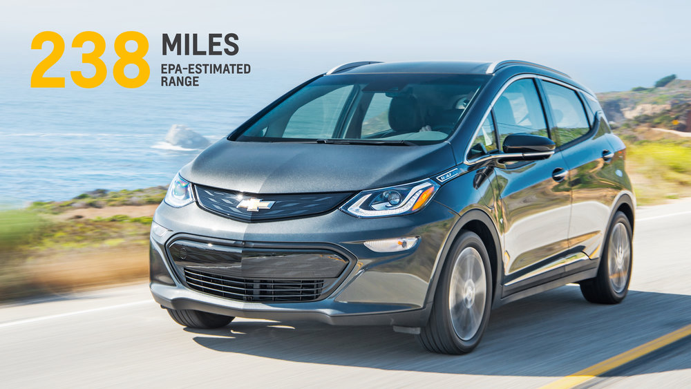 2017 Chevrolet Bolt -GM Stock Photo
