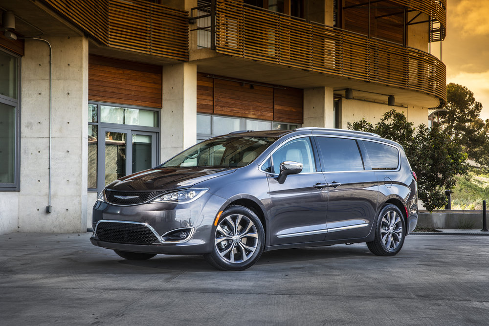 2017 Chrysler Pacifica Limited - FCA Stock photo