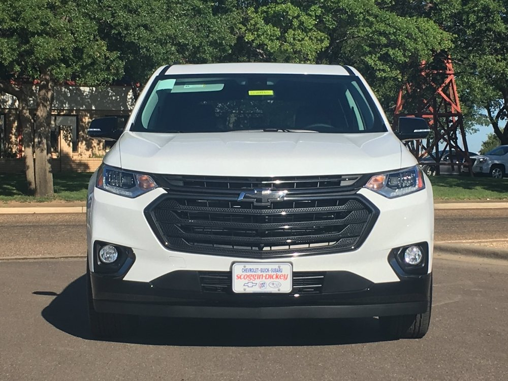 2018 Chevrolet Traverse Red Line Edition