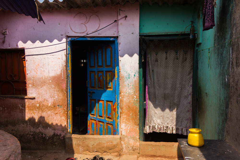 Colours of the slums