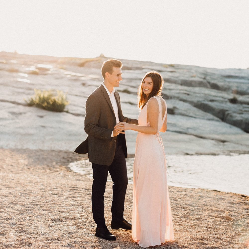 Perdenales Falls State Park    Christa & Jon Michael    engagement