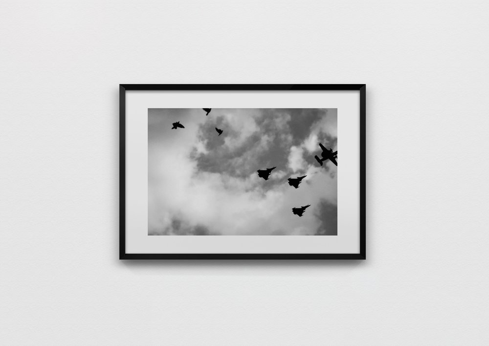 sky formation  Paris, France 2013  40 x 60 Archival Print, 50 x 70