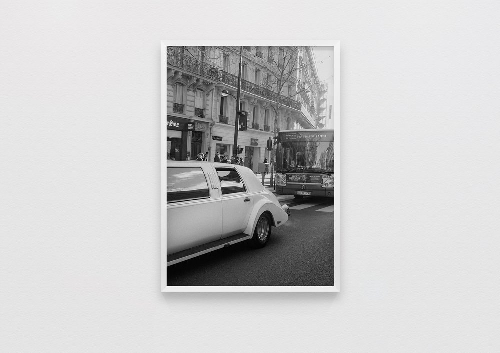 traffic  Paris, France 2017  50 x 70 Archival Print