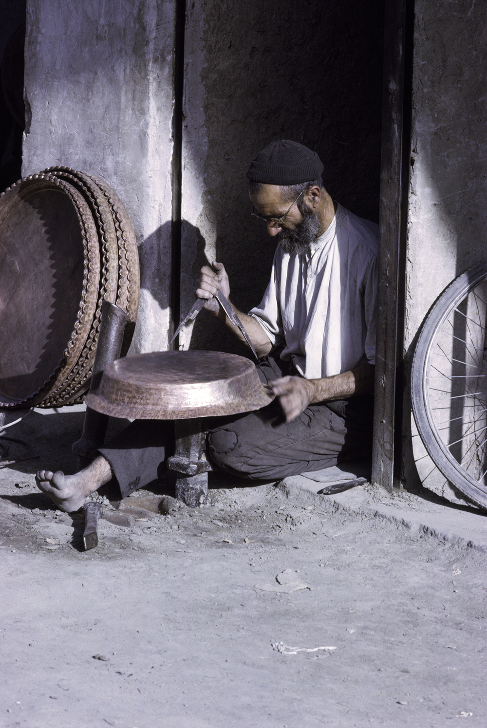 Coppersmith at Work, Iran 19767