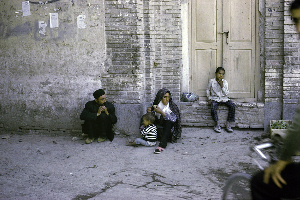 Migrant Family, Shiraz 1967