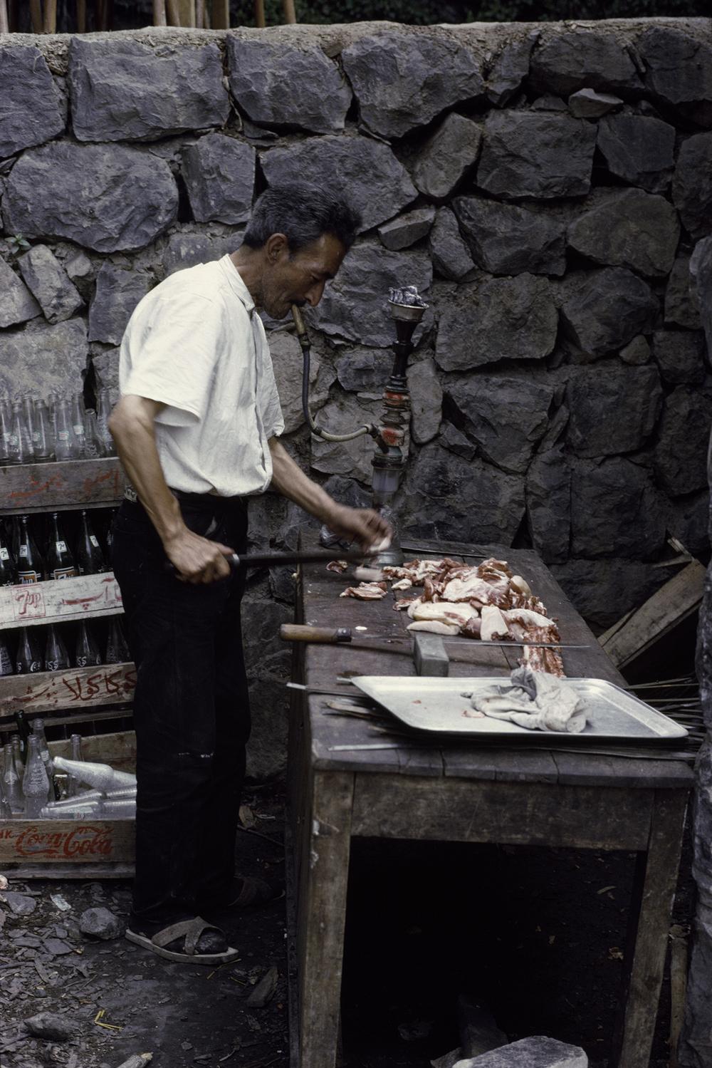 Kabab Man, Iran 1967