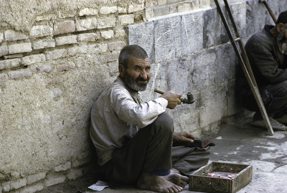 Poor Man With Pipe, Shiraz 1967