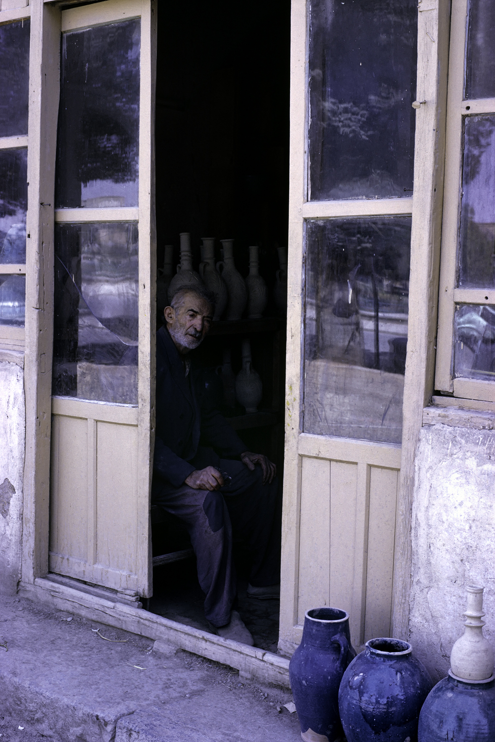 Pottery Shop, Shiraz Bazar 1967