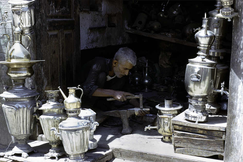 Samovar Shop, Shiraz Bazar 1967