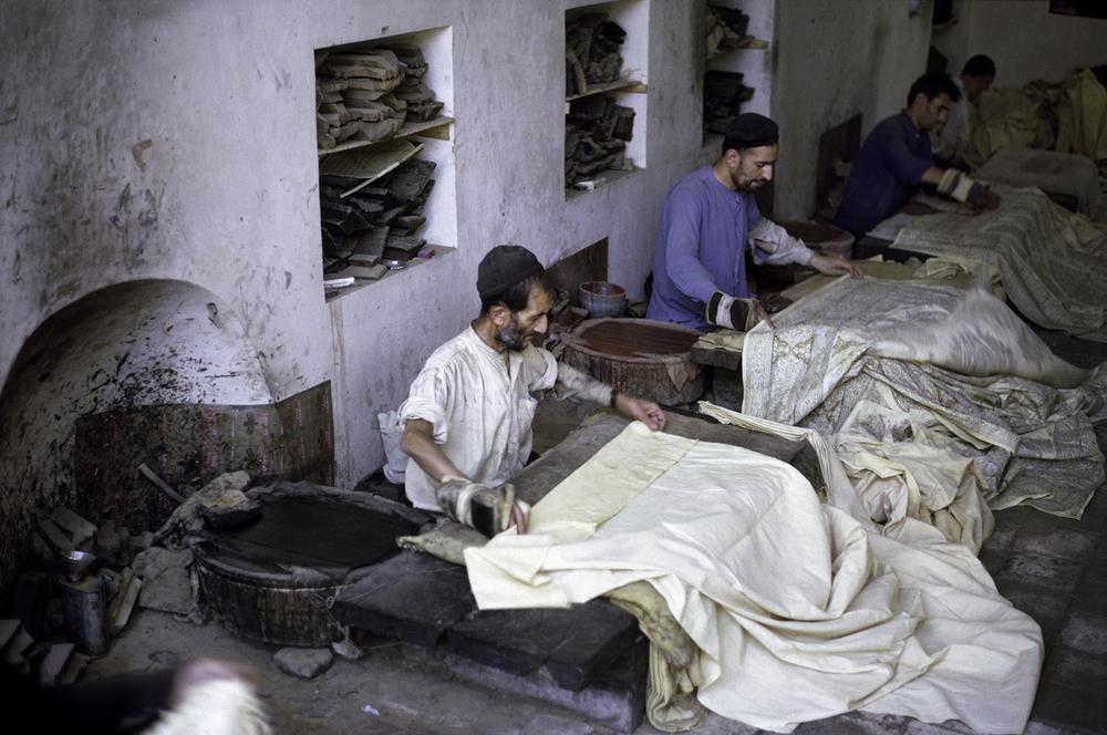 Textile Printers, Iran 1967