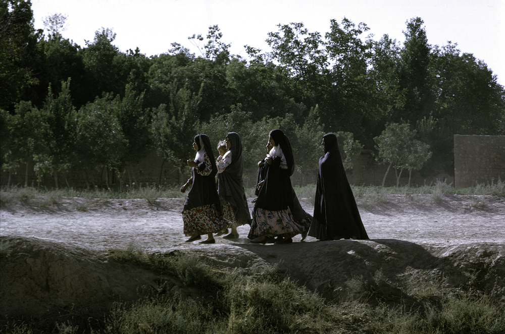 Group of Women Walking, Southern Iran 1967