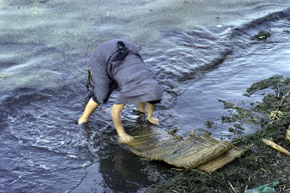 Washerwoman, Iran 1967