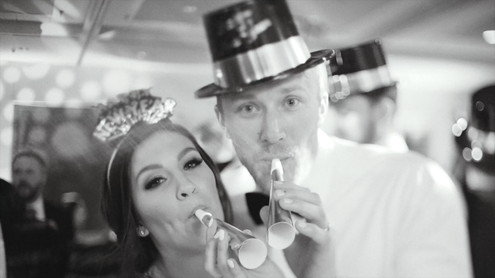 Nebraska New Year's Eve Wedding - Amanda Jake Diekman - Wedding Videographer