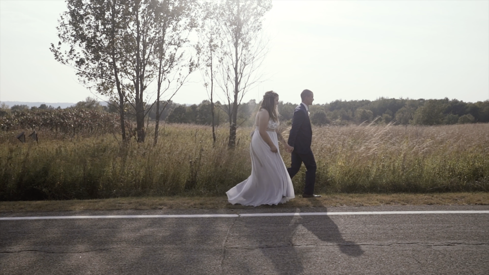 Legacy Hill Farm Wedding Sabrina Tate Minnesota Minneapolis Videographer