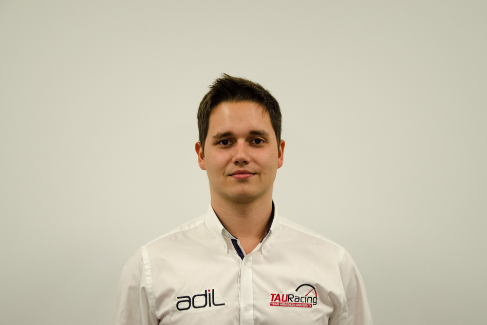 kacper barski - Head of Wheels, Tyres & Steering
