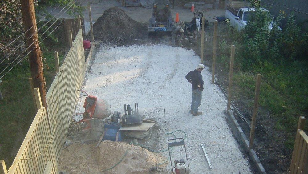 Backyard garden design/build. ©2018 Twelve Gardens Ltd.