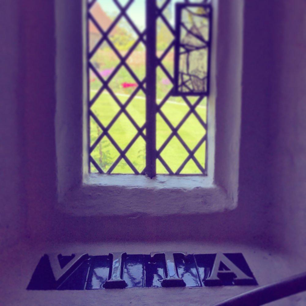 Photograph by Kate Turney of Sissinghurst garden and tower interior, Sissinghurst Castle Garden, Biddenden Rd, Cranbrook TN17 2AB, UK. ©2016 Twelve Gardens Ltd. http://twelvegardens.com/blog/inspiration