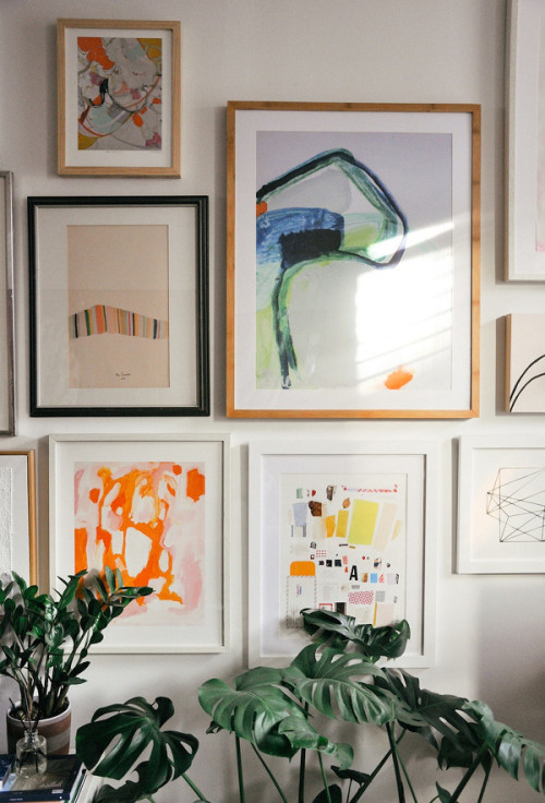 Stacy Longenecker Home via DesignSponge
