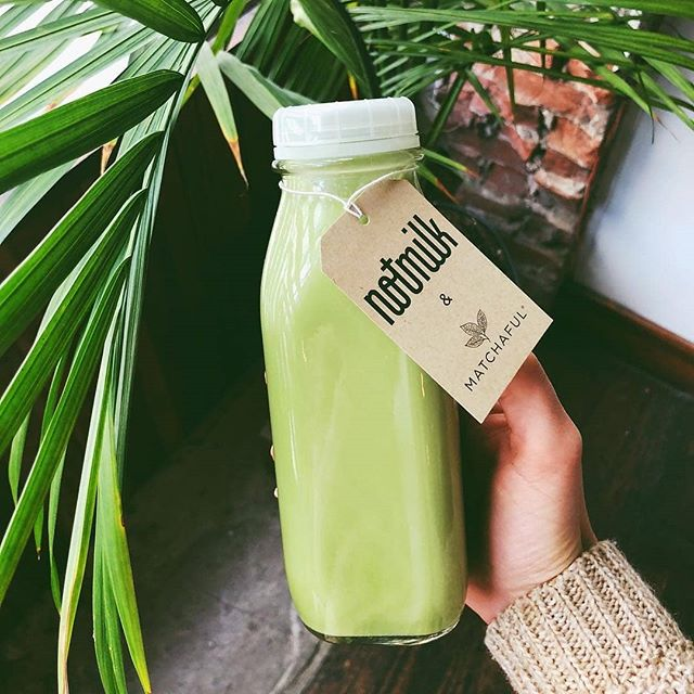 It's finally here!! Matcha NotMilk! 😍✨🌿 It's creamy, smooth, and oh so green! Made with @matchaful = soooo delish! 🍵🍵 Repost from the lovely @chiefmatchaofficer :) 💚💚💚💚 #freshisalwaysbest #matcha #matchaful #nycfood #freshnotmilk #madeinbk #NotMilknyc #freshisbest #vegan