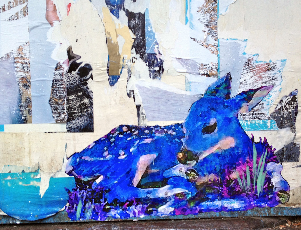 Blue Fawn on King St., NYC