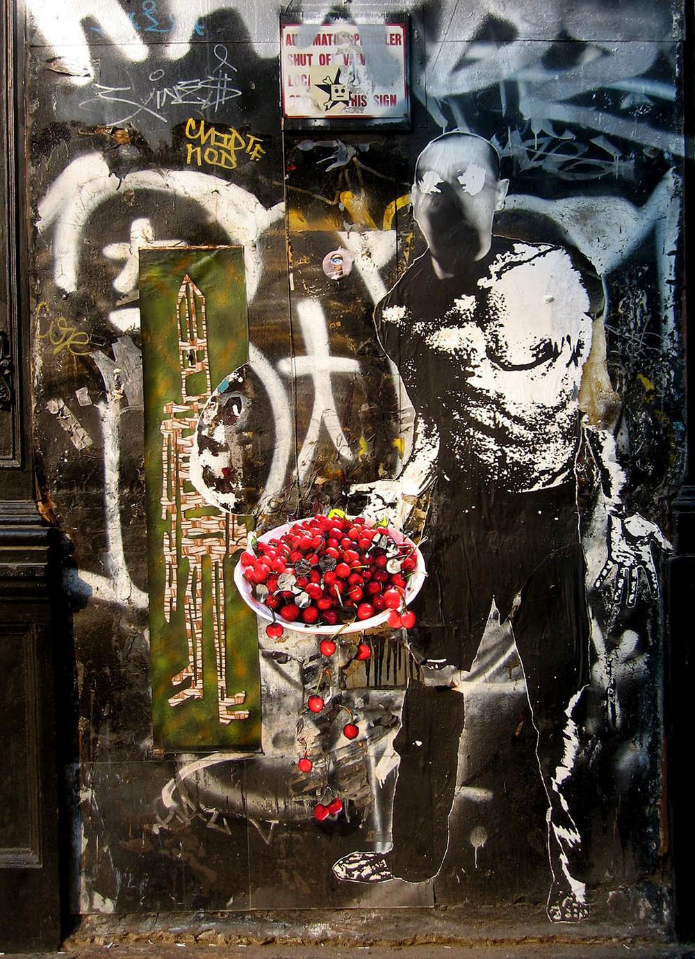 Bowl of Cherries on Howard St., NYC