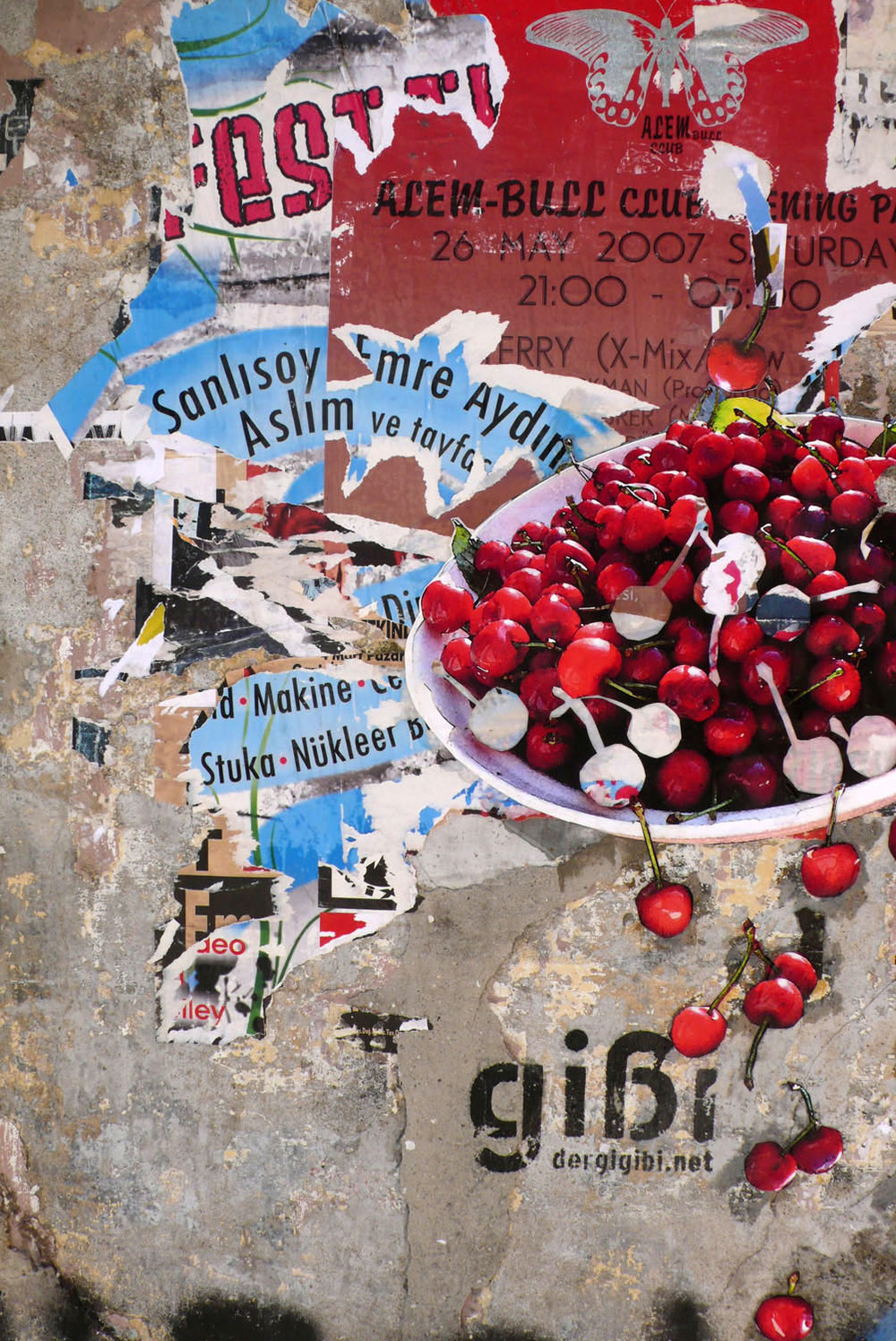 Cherry Bowl in Istanbul