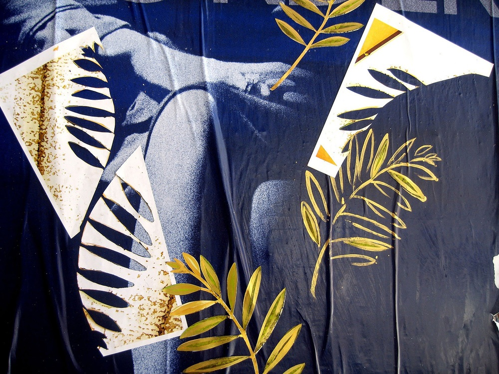 Olive Branches in Chelsea (detail), NYC