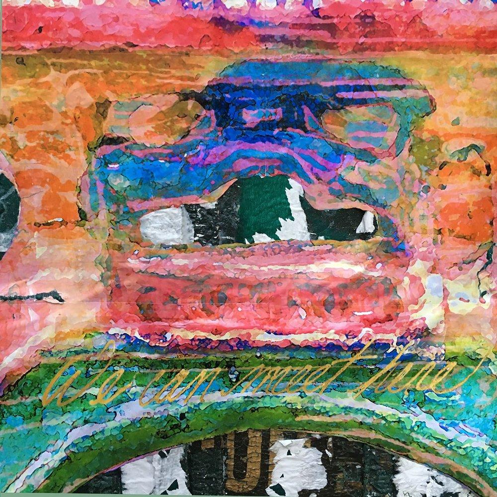 Meeting Bridge (detail), Crosby St., NYC