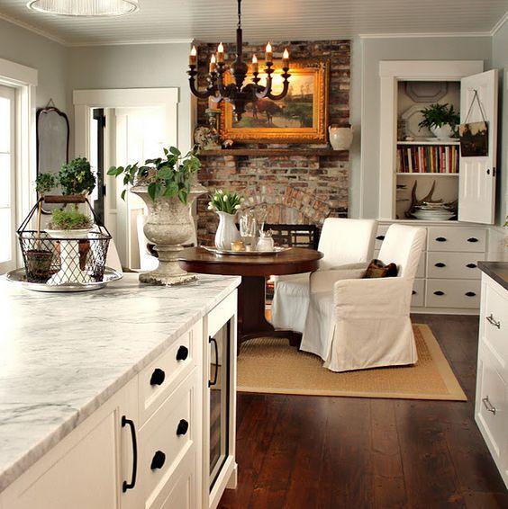 kitchen fireplace.com