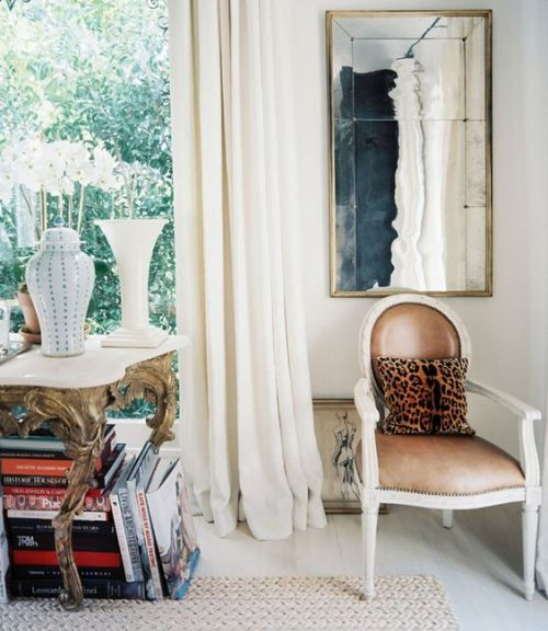 DÉCOR: GILDED GOLD + LEOPARD A SOPHISTACTED DUO -