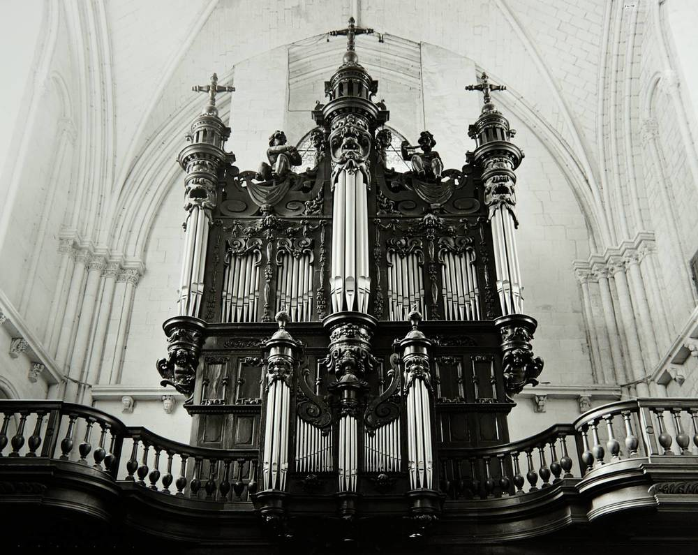 Pipe Organ (L'Église de Saint-Pierre, Saumur, France)