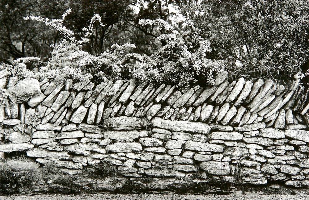 Rock Fence (Gordes, France)