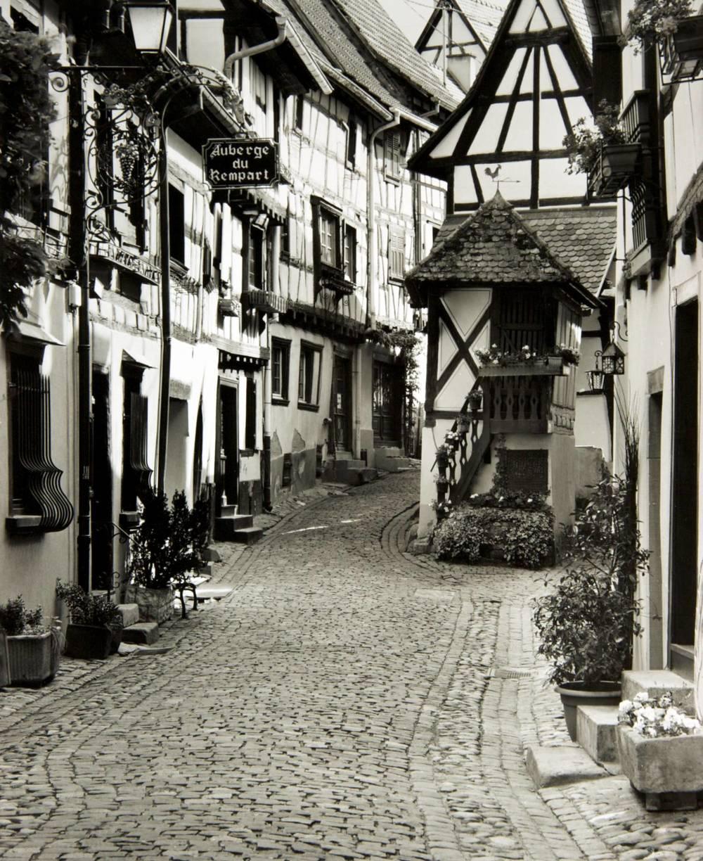 Street in Equisheim (France)