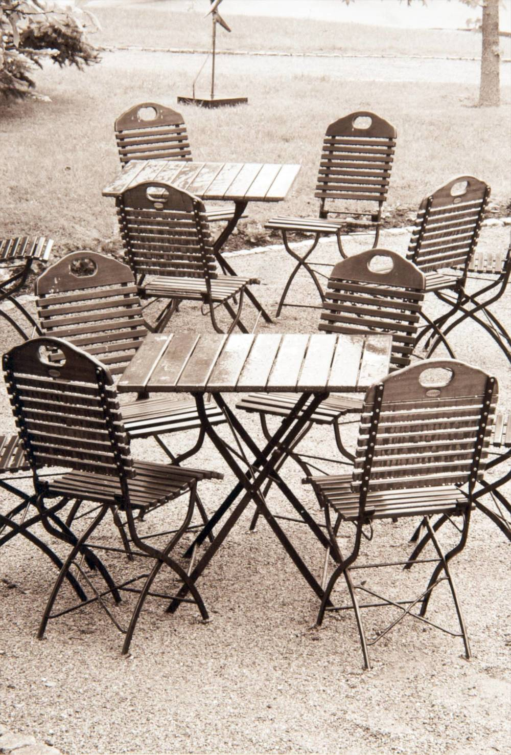 Chairs (Château de L'ile, France)