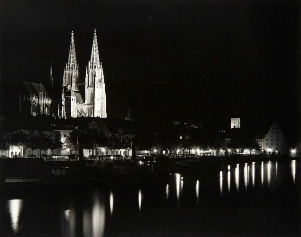 Night in Regensburg (Germany)