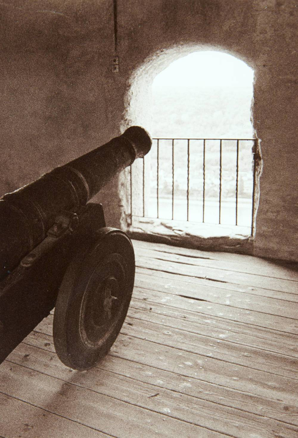 Cannon (Marksburg Castle, Germany)