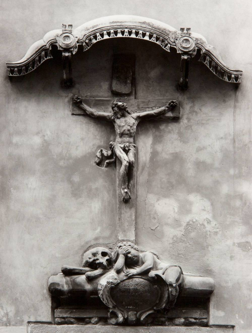 Crucifix at St. James (Prague, Czech Republic)
