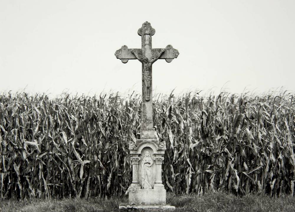 Crucifix in Counryside (Hungary)